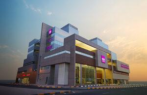 Medcare Hostpital Combo Roof system waterproofing Sharjah