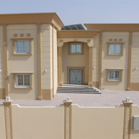 Private Villa Waterproofing Combo Roof System Sharjah