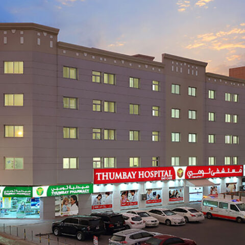 Thumbay Hospital Combo Roof System waterproofing Sharjah