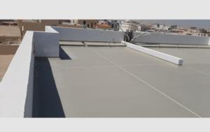 FInal Coat Combo Roof System Abu Dhabi UAE