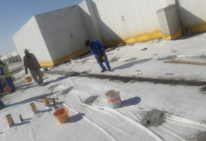Geotextile Combo System Waterproofing UAE