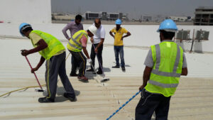 Metal Roof Waterproofing Abu Dhabi UAE