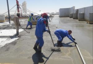 Screed Roof Combo System Abu Dhabi UAE